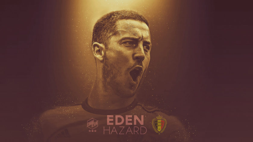 Wallpaper – Eden Hazard – Bélgica