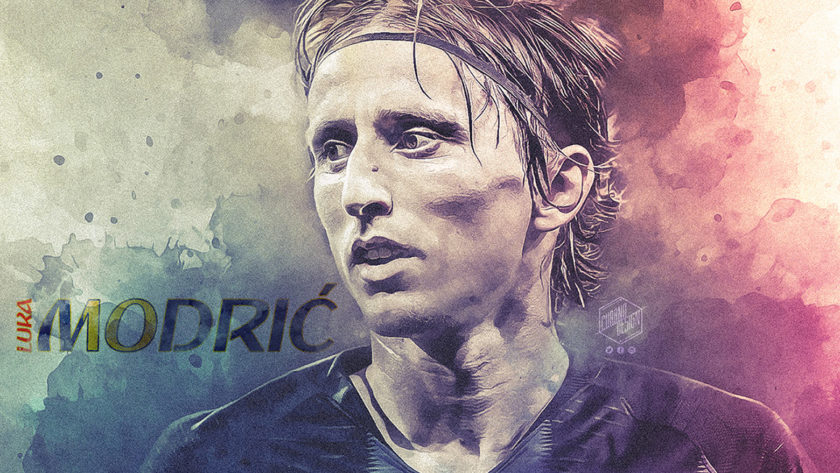 Wallpaper – Luka Modrić – Croacia 2